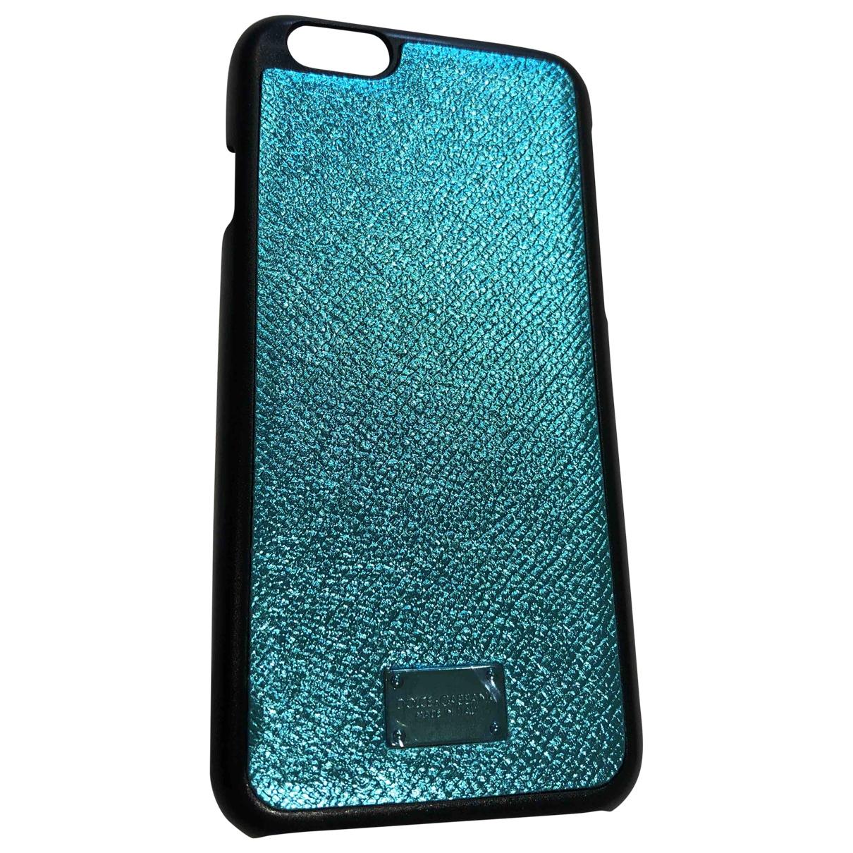 Dolce & Gabbana \N Accessoires in  Blau Kunststoff