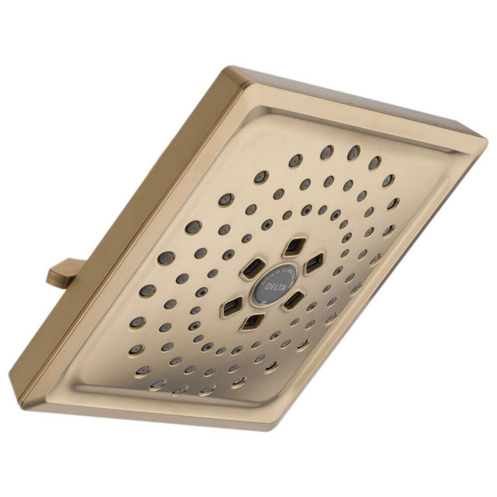 Delta Universal Showering H2Okinetic 3-Setting Raincan Shower Head 52684-CZ Champagne Bronze