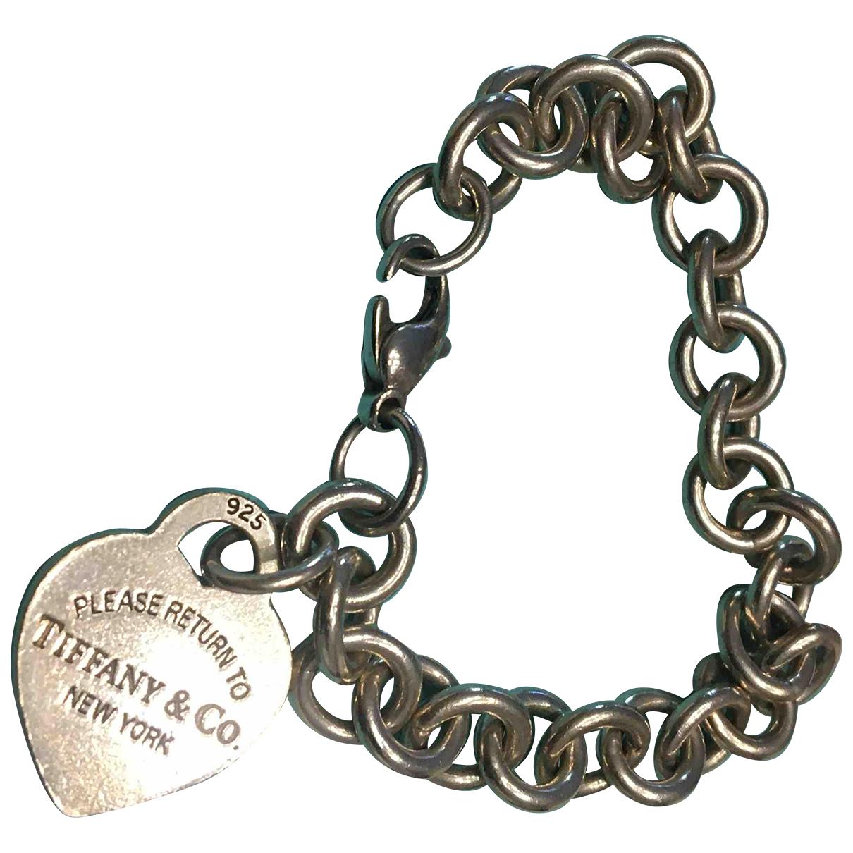 Tiffany & Co Return to Tiffany Armband in  Silber Silber