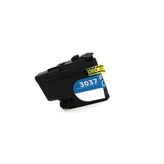 4PK Compatible LC3037BK CMY Inkjet Cartridge for Brother MFC-J5845's J5945's J6545's J6945's (Pack of 4) (Cyan)