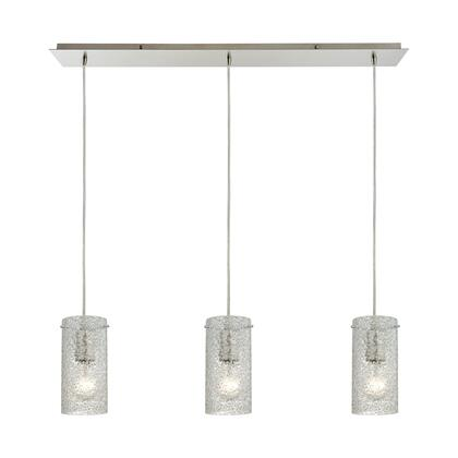 10242/3LP Pendant Options 3 Light Linear Pendant in Satin
