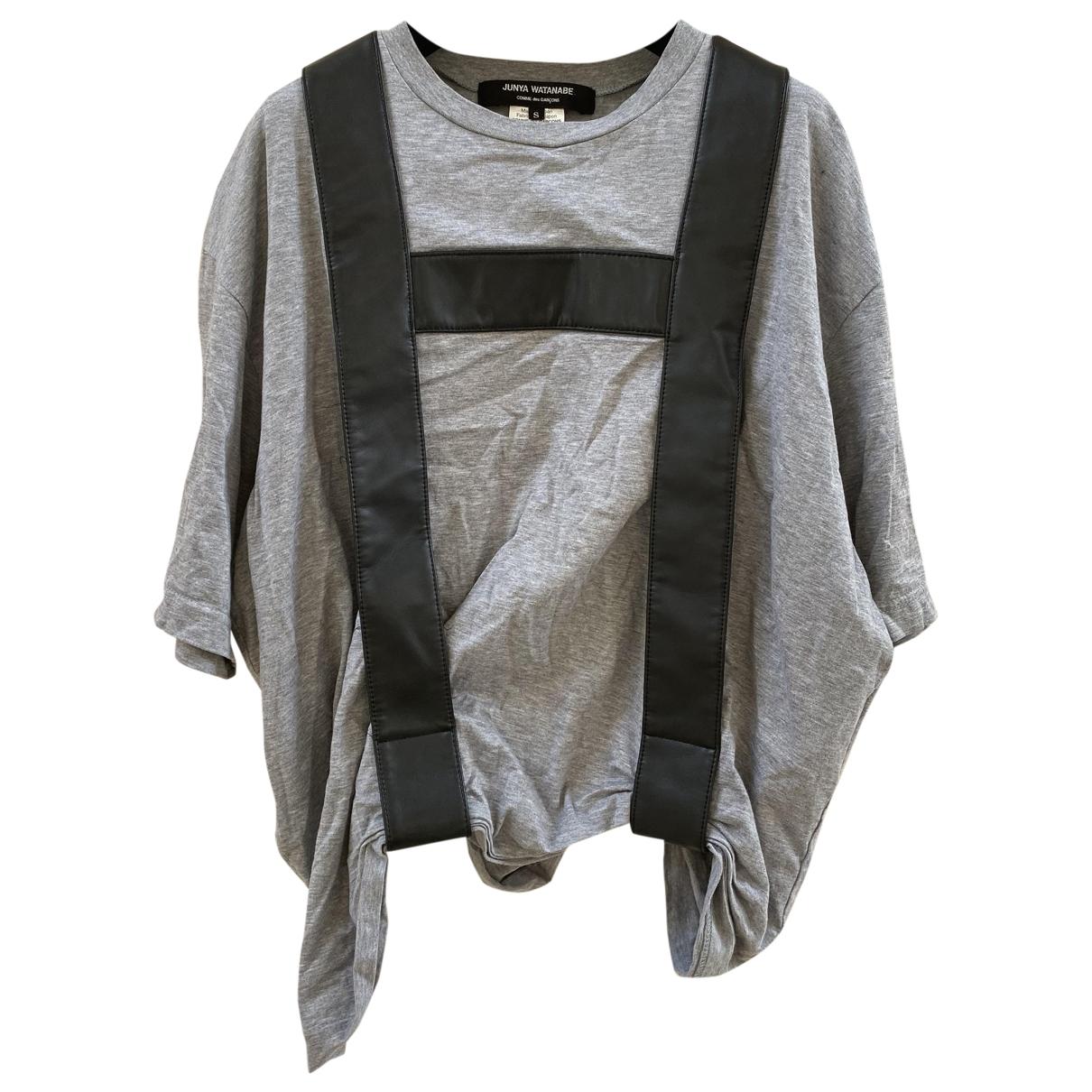 Junya Watanabe - Top   pour femme en coton - gris