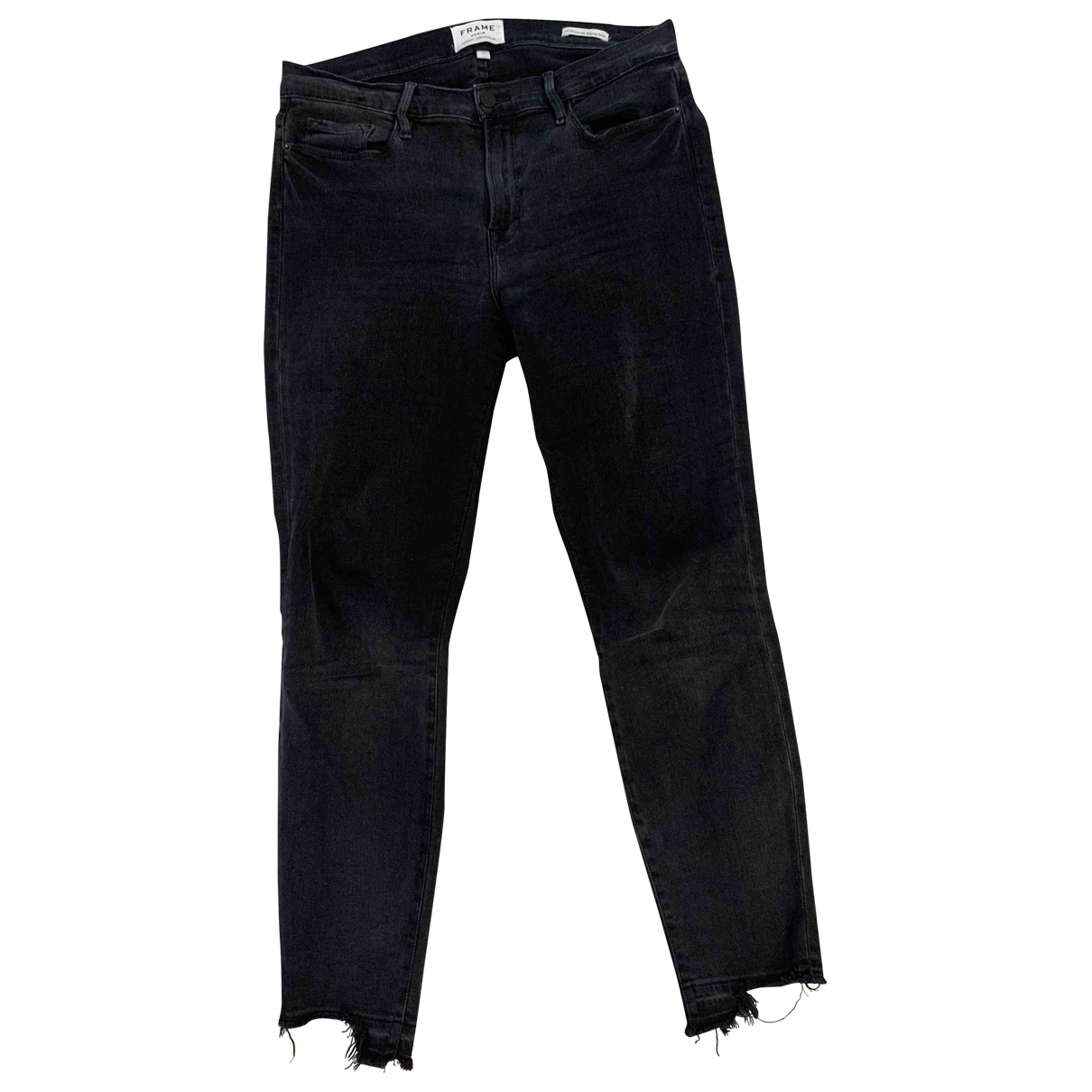 Frame Denim \N Grey Denim - Jeans Jeans for Women 31 US