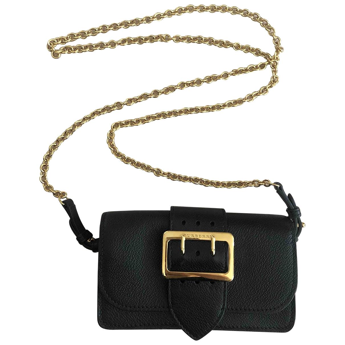 Burberry \N Black Leather Clutch bag for Women \N