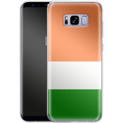 Samsung Galaxy S8 Plus Silikon Handyhuelle - Ireland von caseable Designs