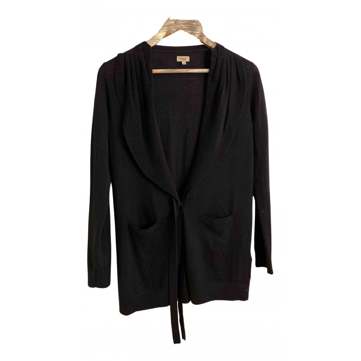 Hoss Intropia N Black Wool Knitwear for Women S International