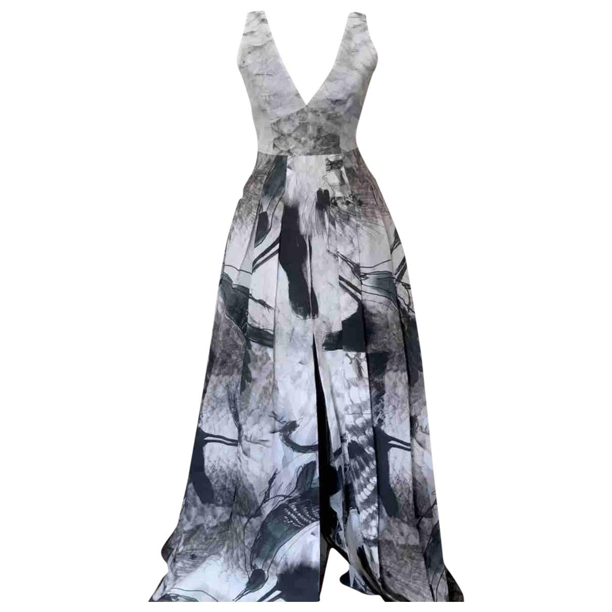 H&m Conscious Exclusive \N Kleid in  Bunt Seide