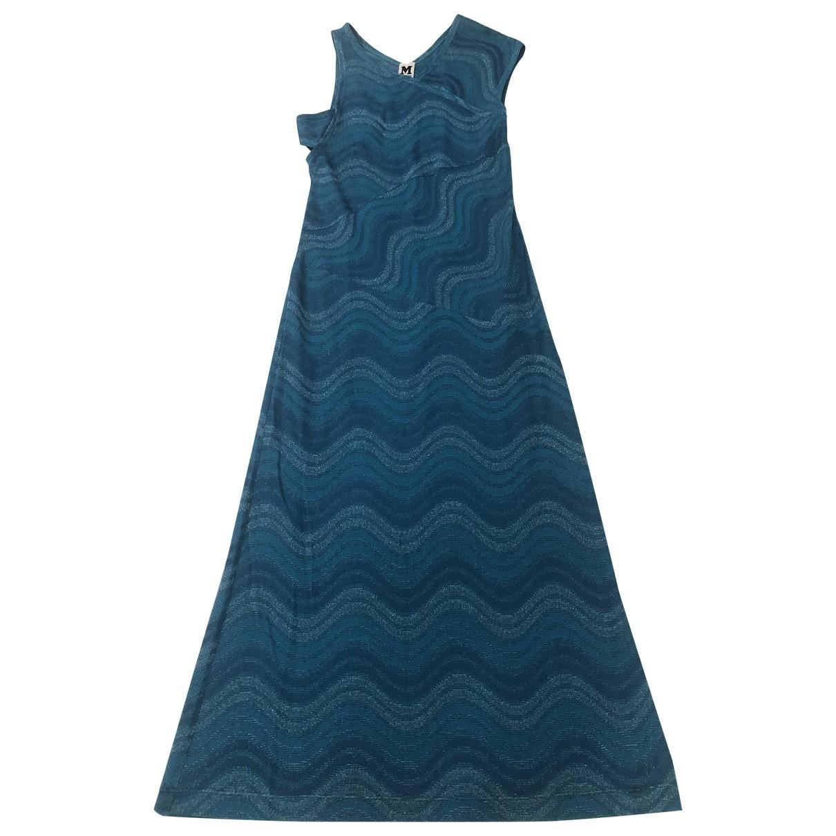 M Missoni \N Blue Cotton dress for Women M International