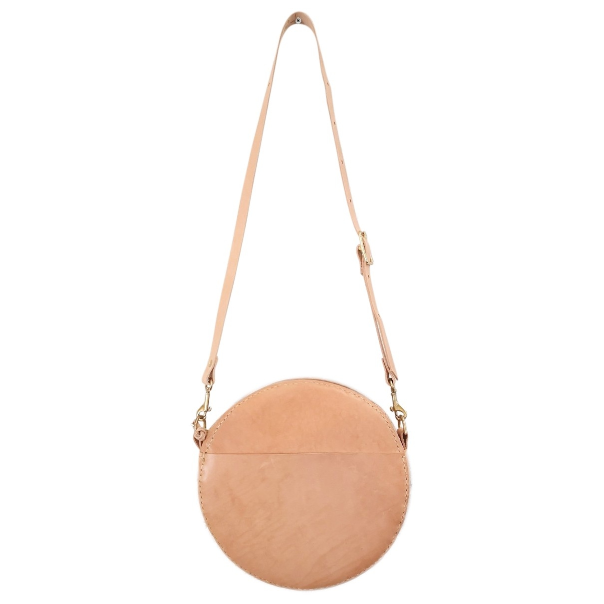Non Signé / Unsigned \N Beige Leather handbag for Women \N