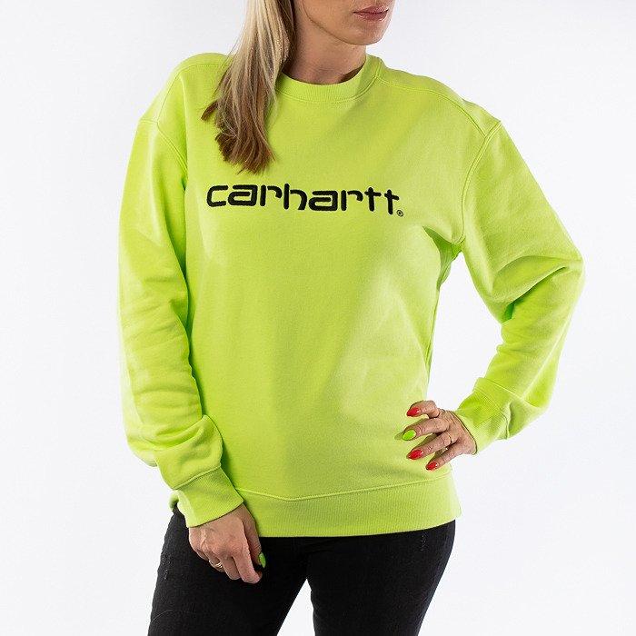 Carhartt WIP W Sweatshirt I027475 LIME/BLACK