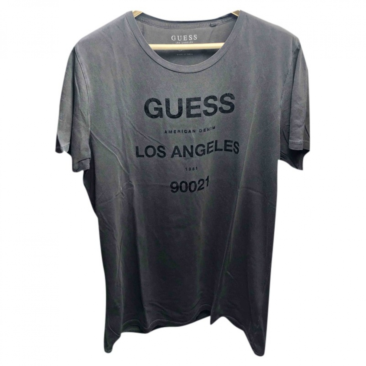 Guess \N Anthracite Cotton T-shirts for Men L International