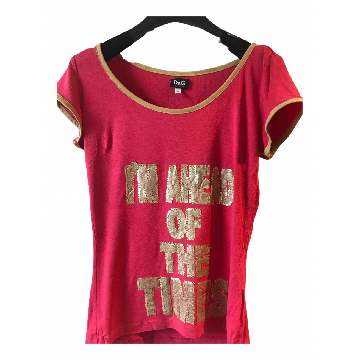 D&g \N Red Cotton  top for Women S International