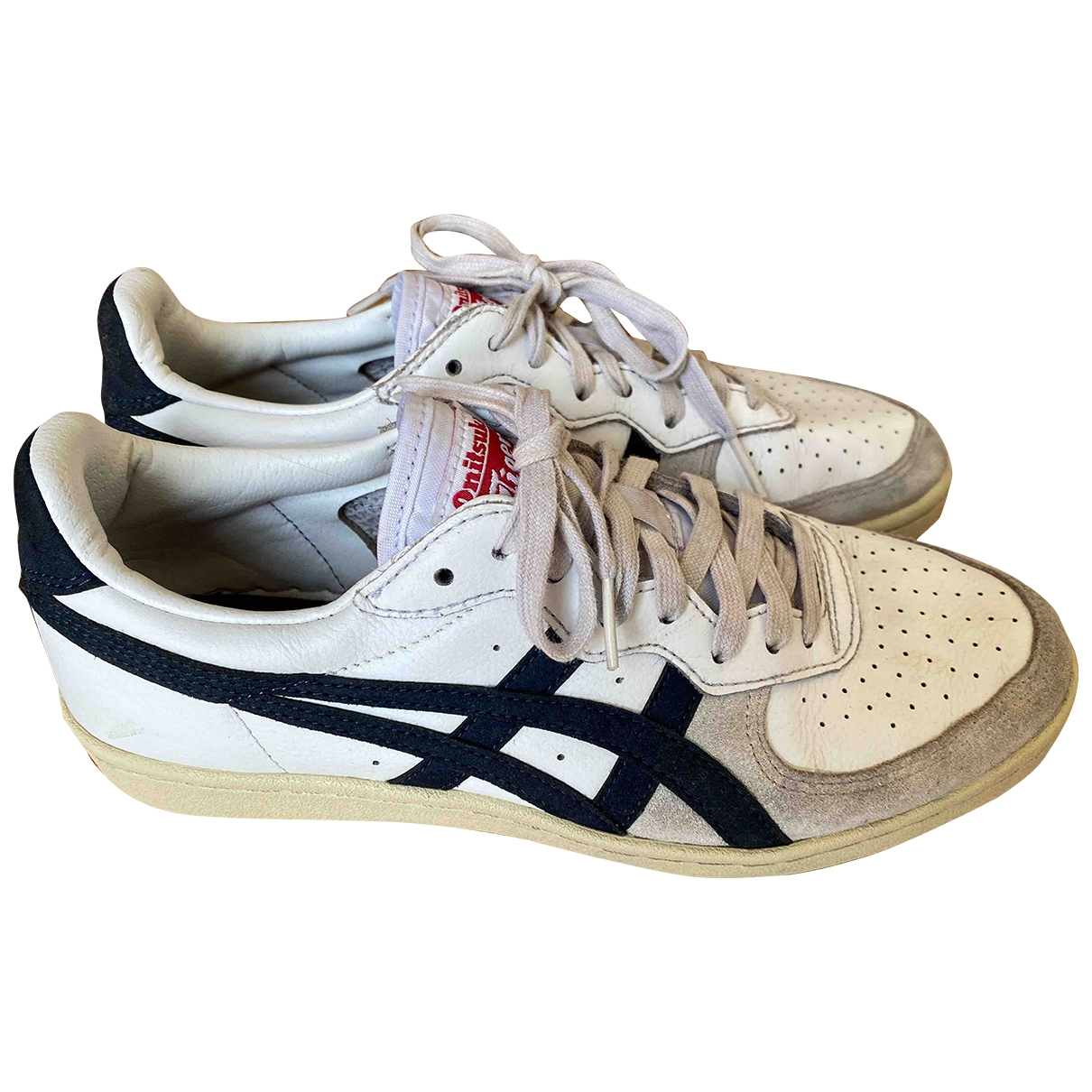 Onitsuka Tiger \N White Leather Trainers for Men 40 EU