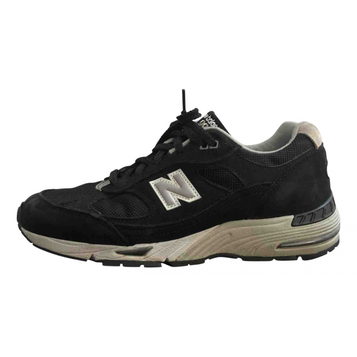 New Balance \N Black Suede Trainers for Women 39 EU