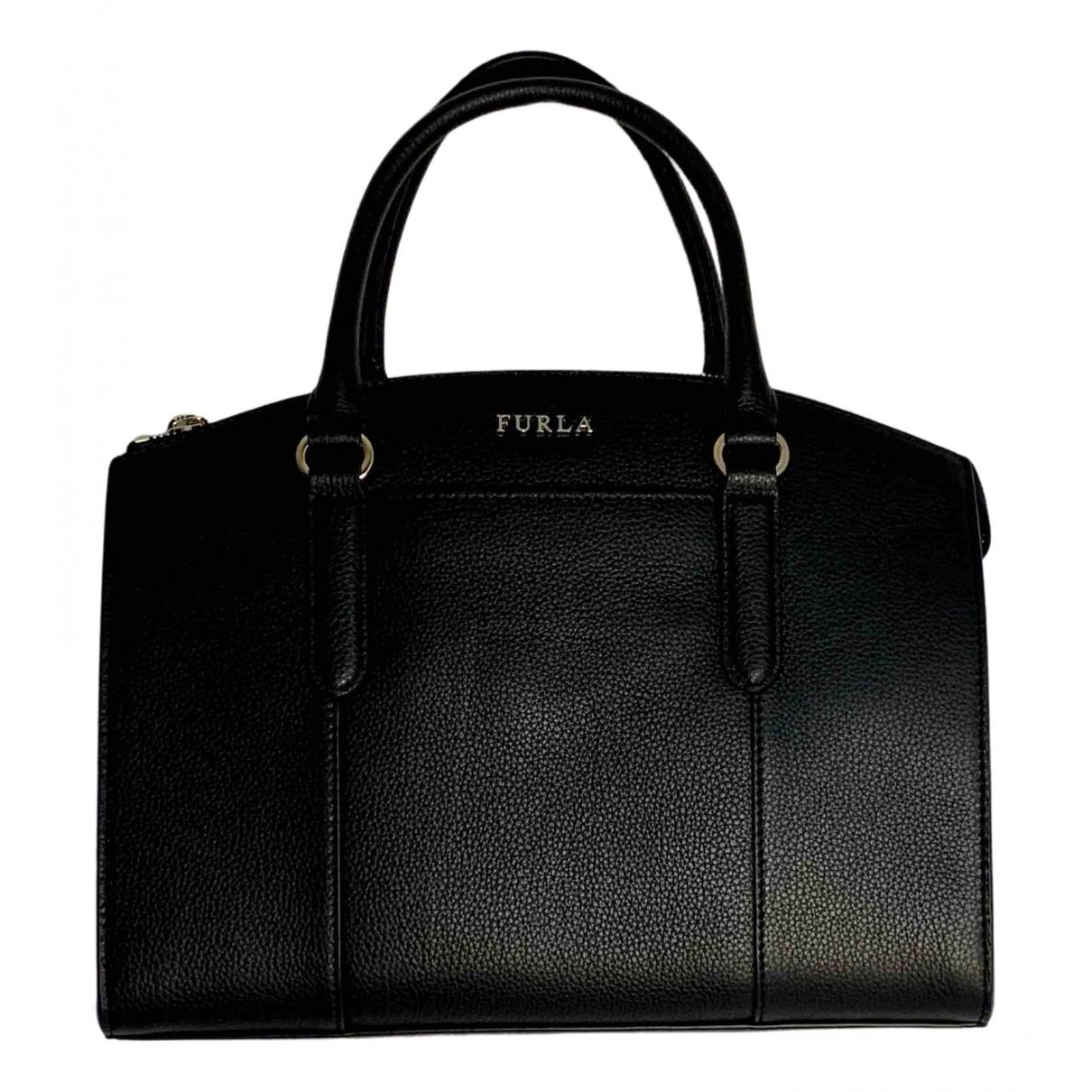 Furla N Beige Leather handbag for Women N
