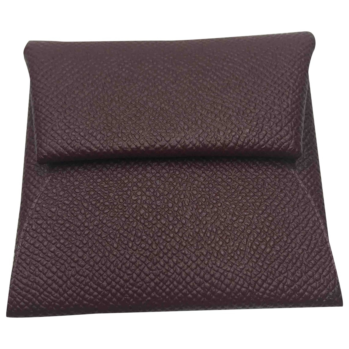Hermès Bastia Brown Leather Purses, wallet & cases for Women \N