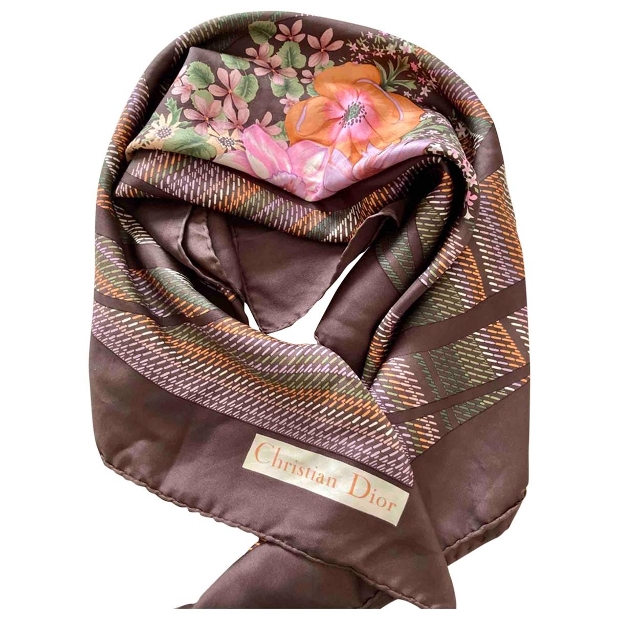 Pañuelo de Seda Christian Dior