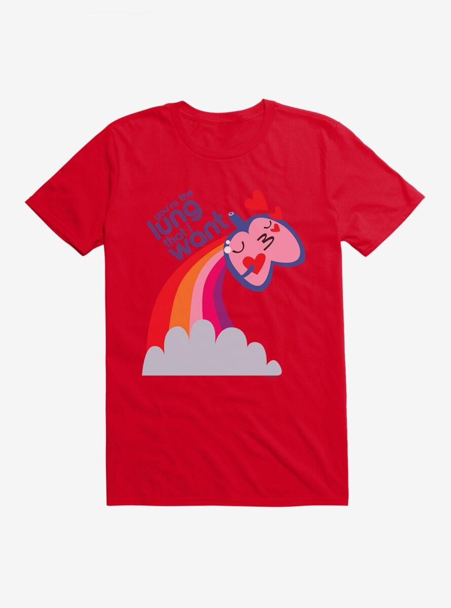 BL Creators: I Heart Guts You're The Lung That I Want T-Shirt
