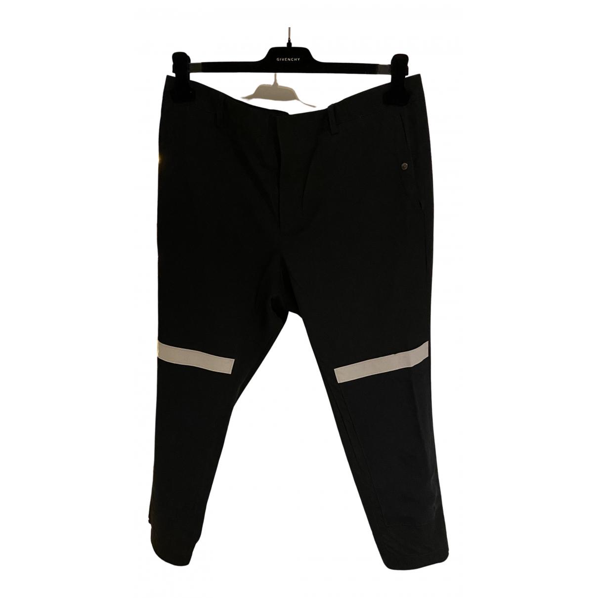 Lanvin N Black Wool Trousers for Men 48 IT