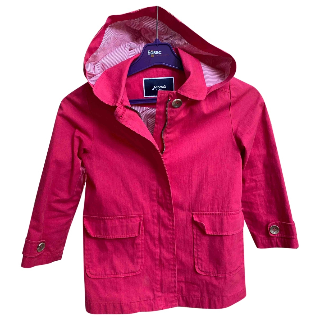 Jacadi \N Red Cotton jacket & coat for Kids 6 years - up to 114cm FR