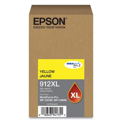 Epson 912XL T912XL420 cartouche d'encre originale jaune haute capacité
