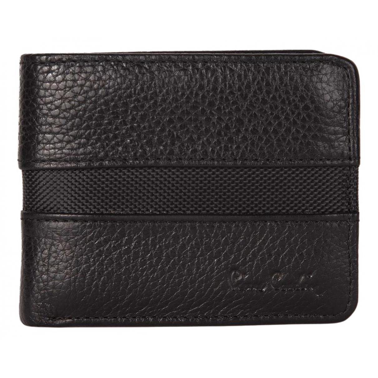 Pierre Cardin N Black Leather Small bag, wallet & cases for Men N