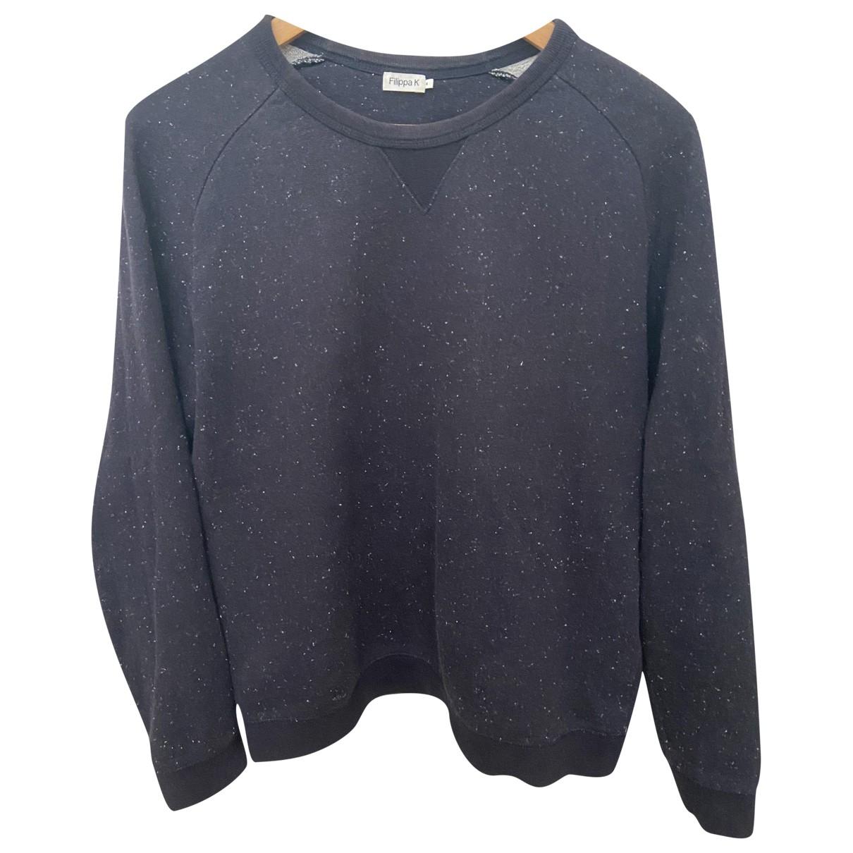 Filippa K \N Pullover.Westen.Sweatshirts  in  Schwarz Baumwolle