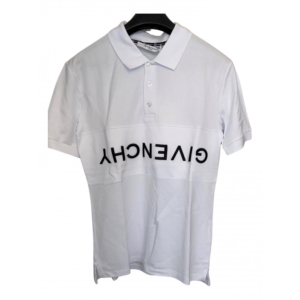 Givenchy - Polos   pour homme en coton - blanc
