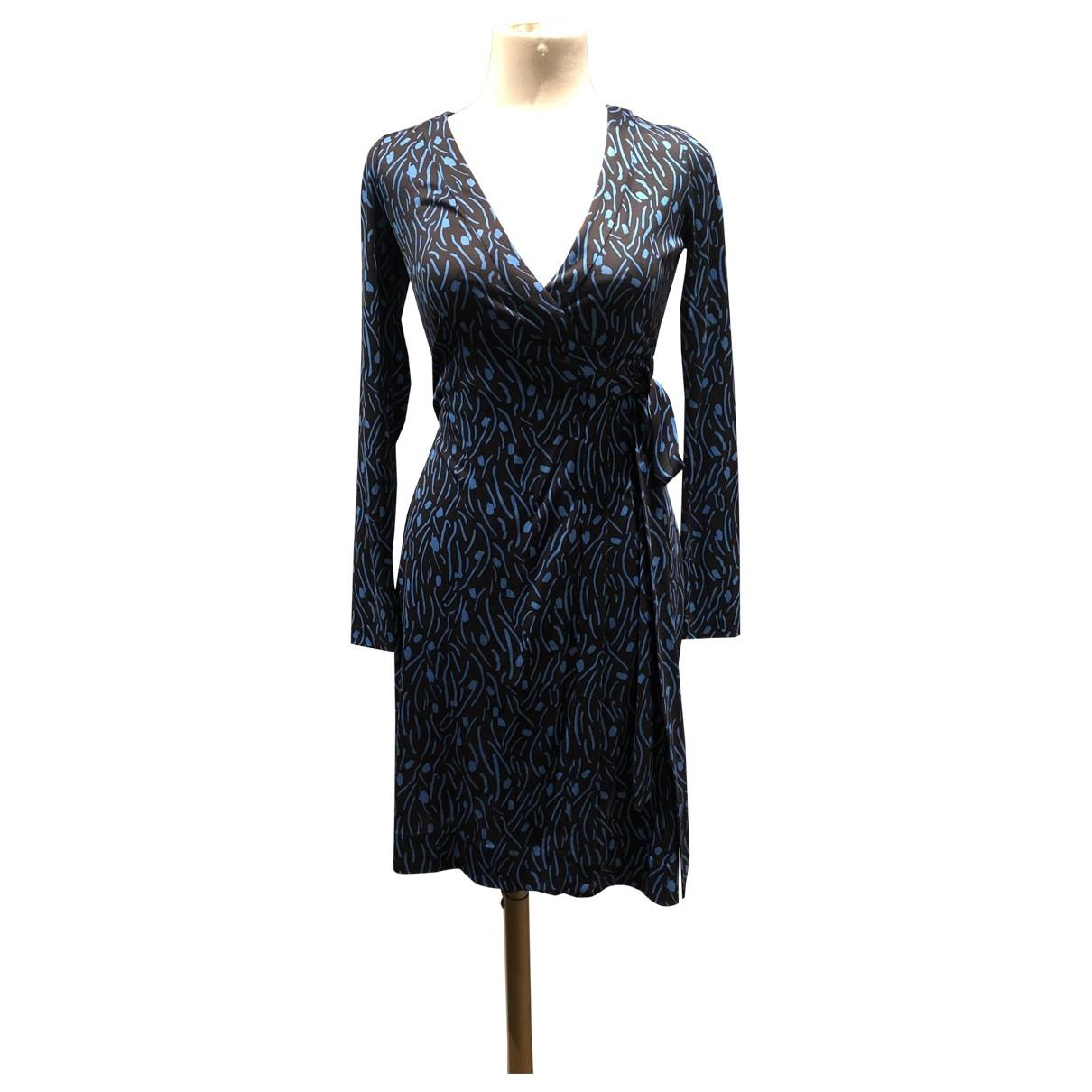 Diane Von Furstenberg \N Blue dress for Women 36 FR