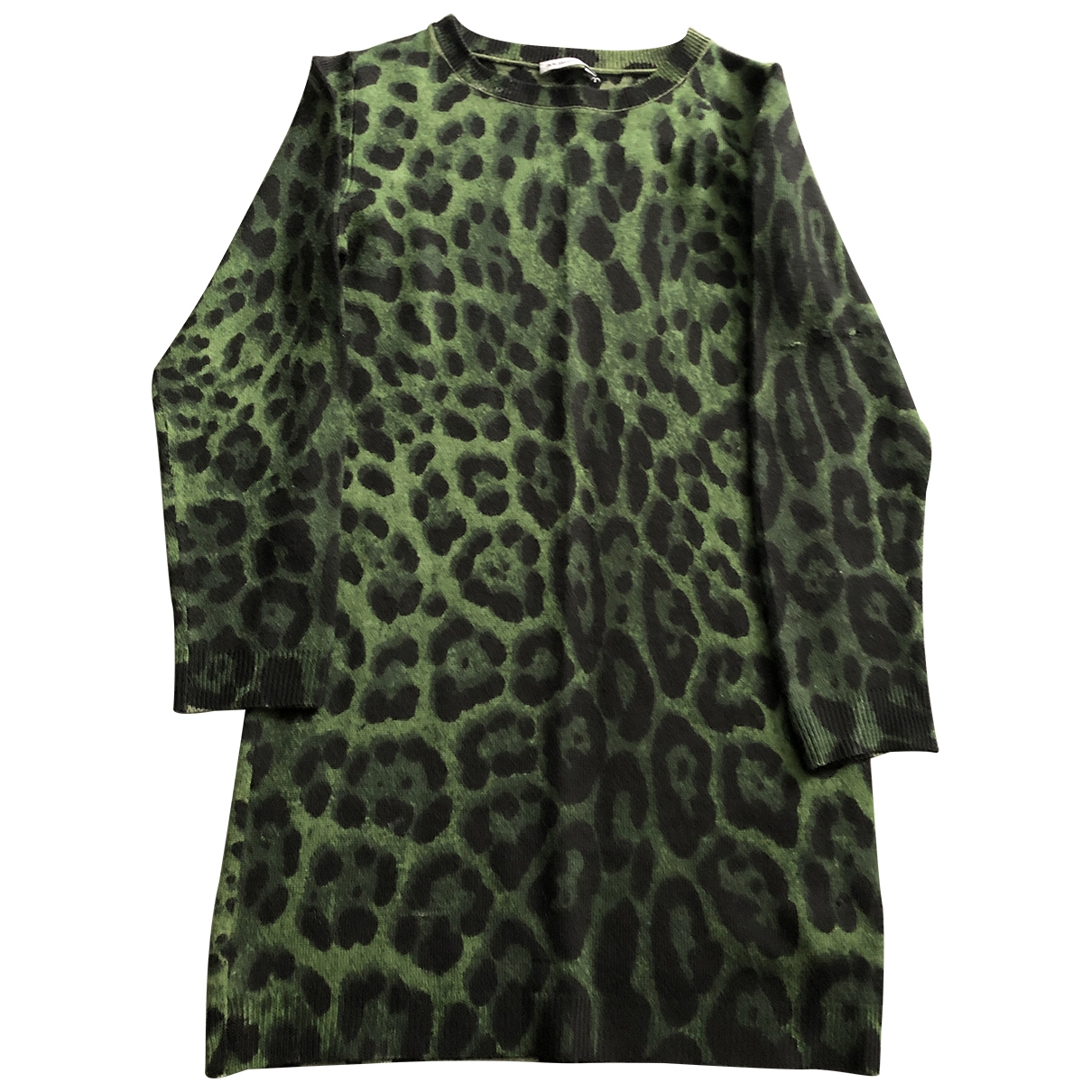 Dolce & Gabbana \N Green Wool dress for Kids 6 years - up to 114cm FR