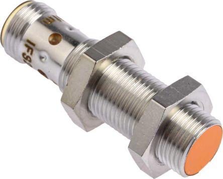 ifm electronic M12 x 1 Inductive Sensor - Barrel, NPN-NC Output, 4 mm Detection, IP67, M12 - 4 Pin Terminal