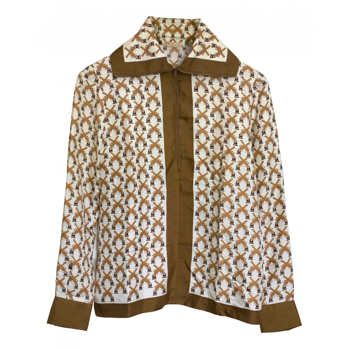 Blusa de Seda Gucci