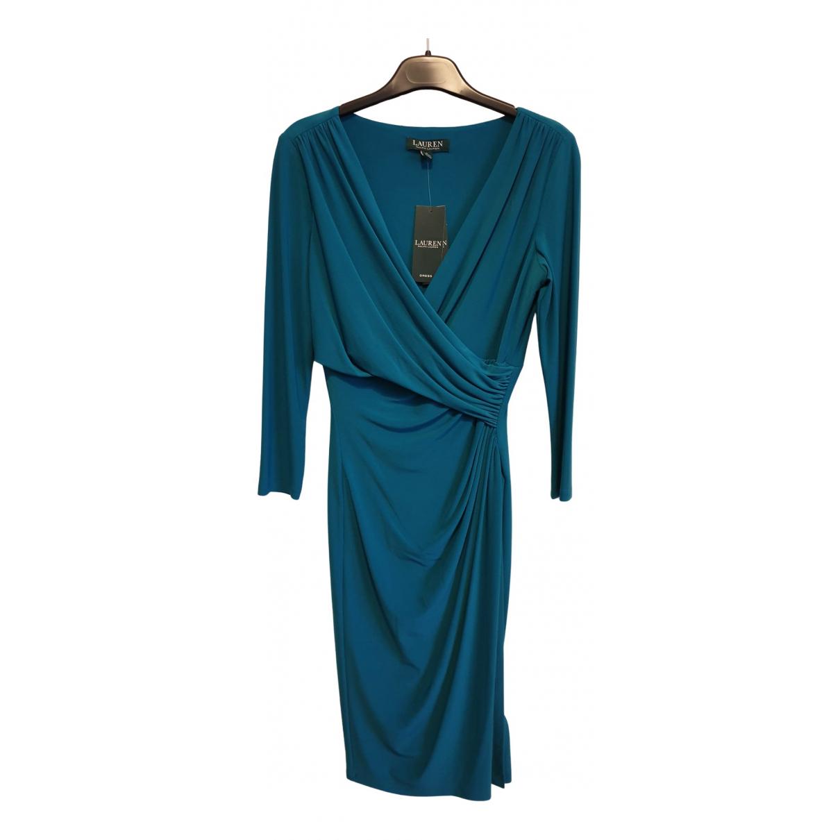 Lauren Ralph Lauren \N Kleid in  Gruen Synthetik