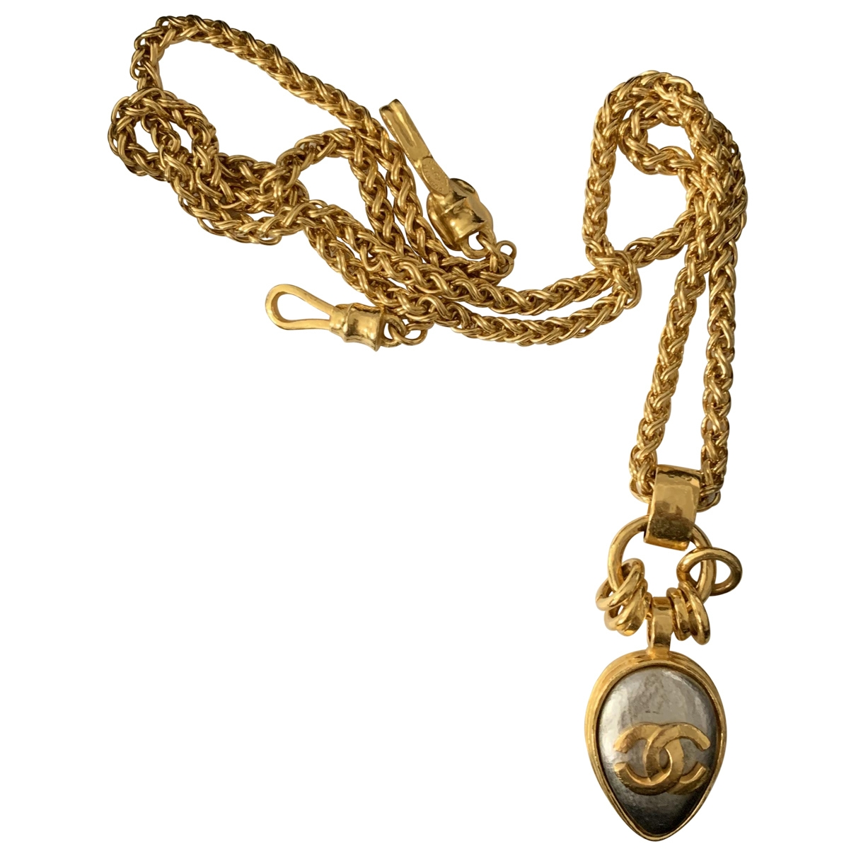 Chanel \N Anhaenger in  Gold Metall