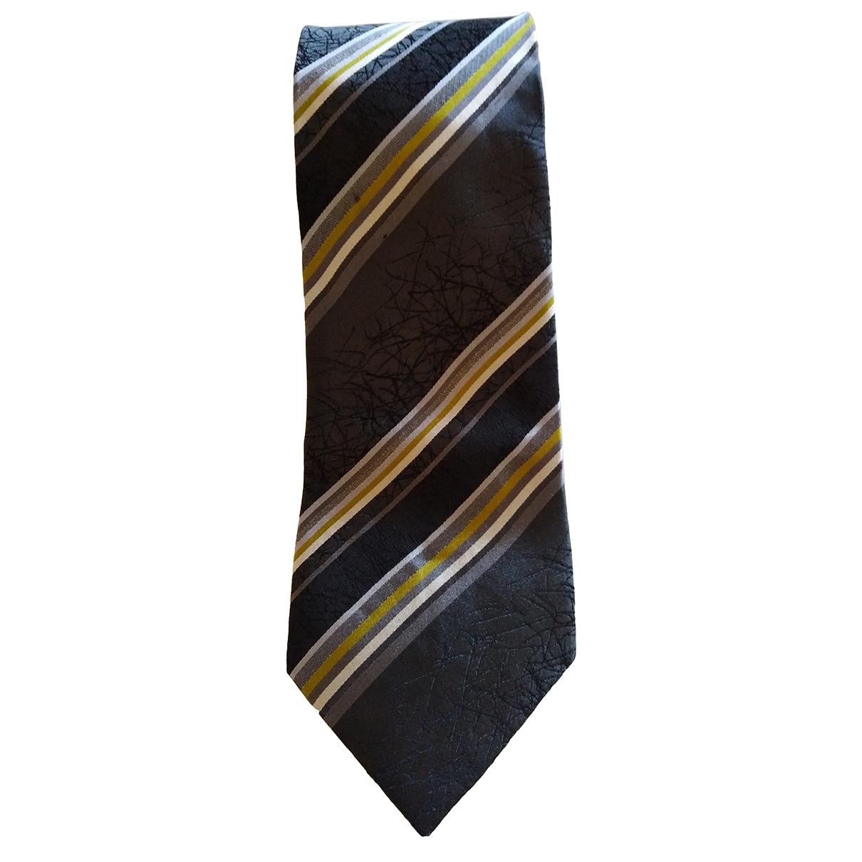 Kenzo \N Krawatten in  Grau Seide