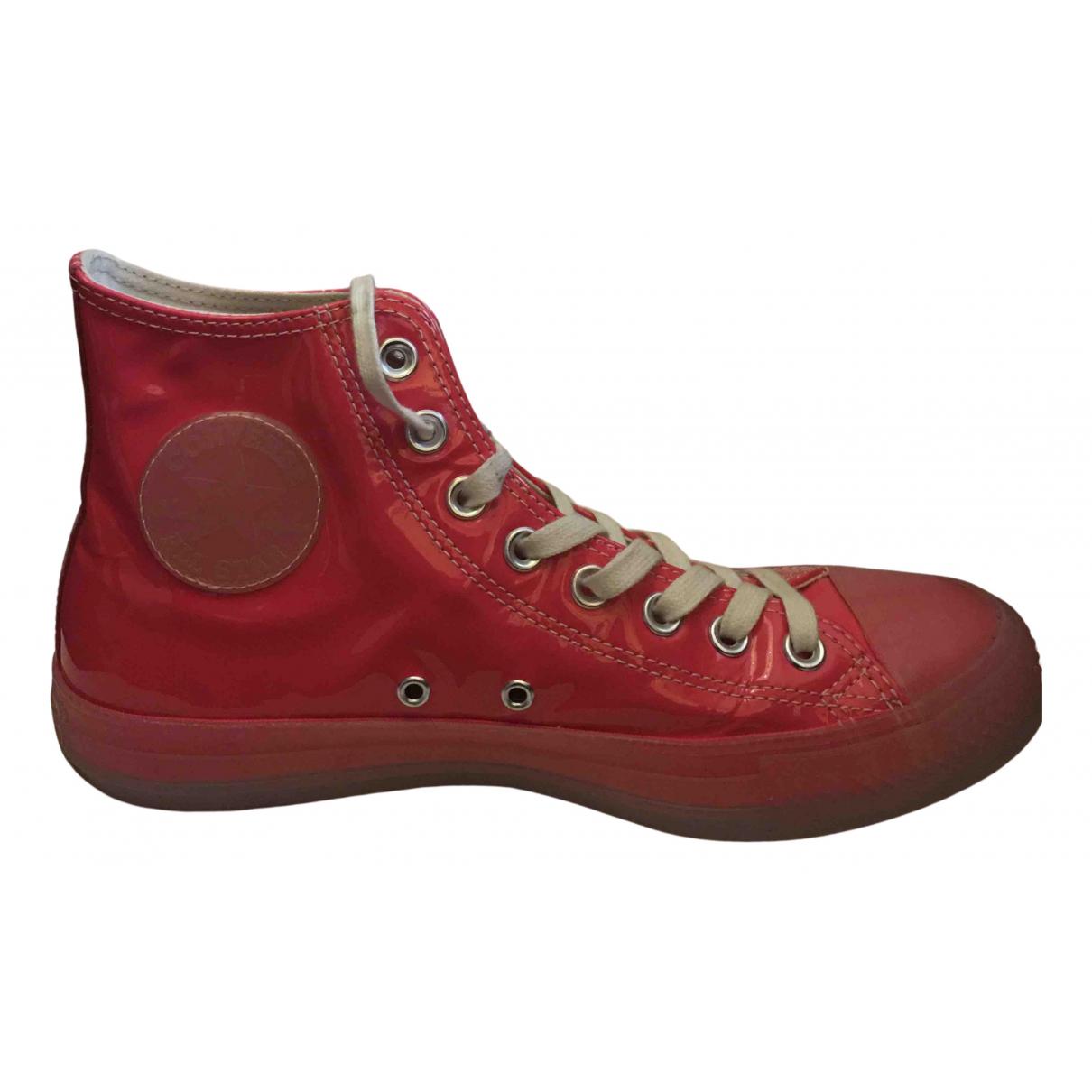 Converse \N Sneakers in  Rosa Lackleder