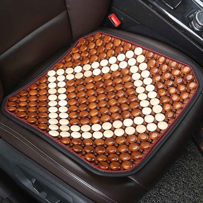 Wood Material Cool Durable Color Block Universal Fit Car Seat Mats