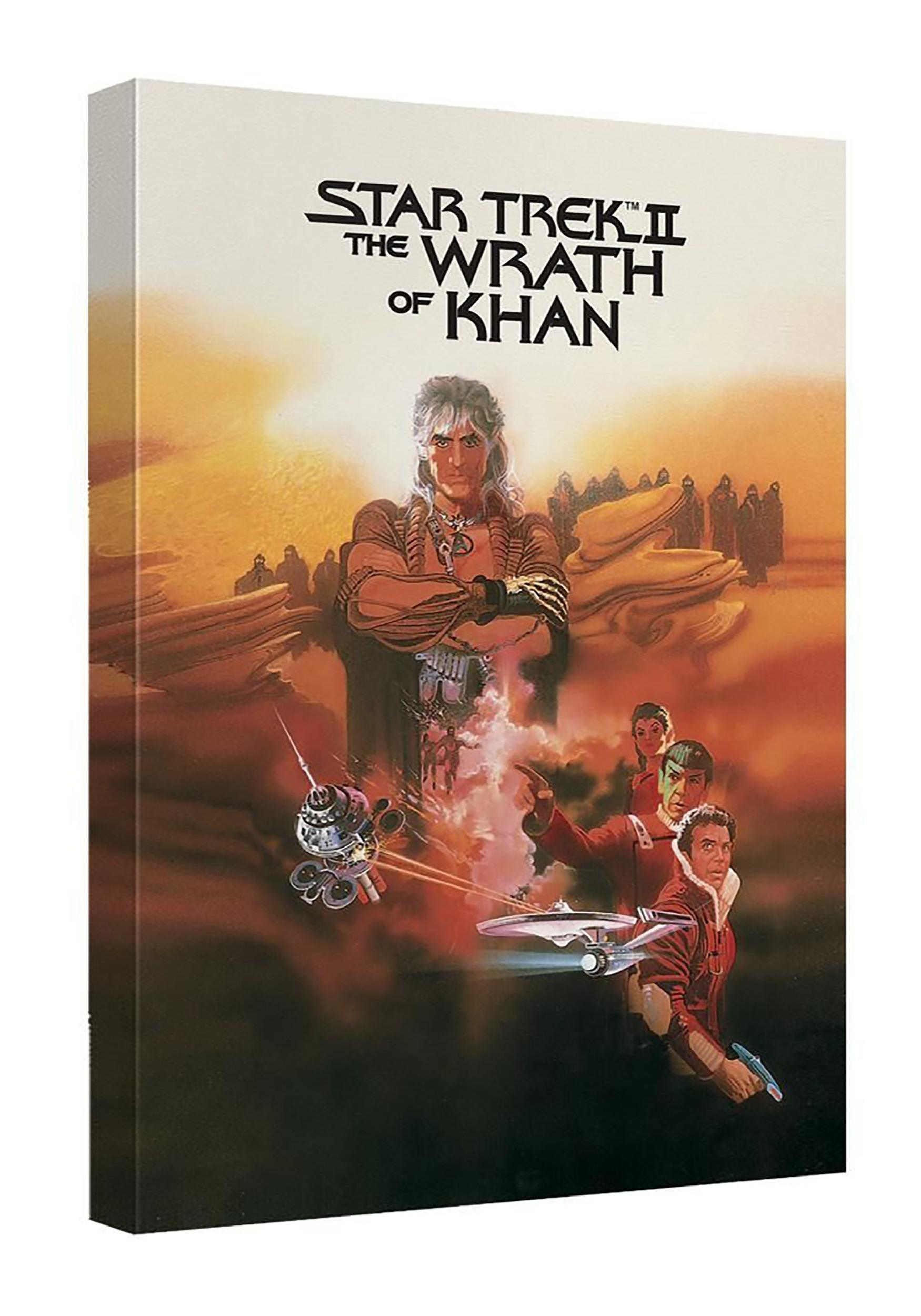 Star Trek II Wrath of Khan Canvas Wall Décor