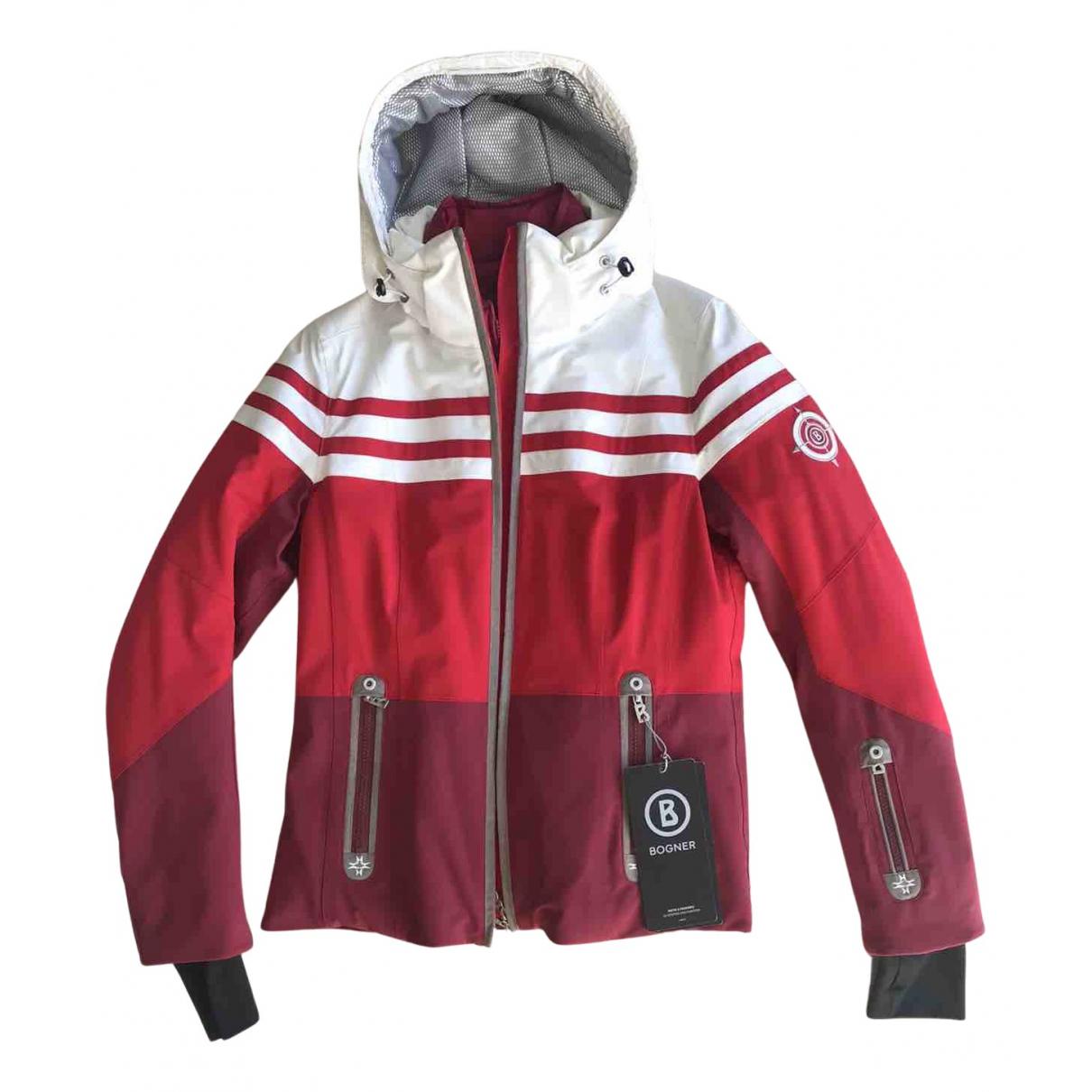 Bogner N Red jacket for Women 44 IT