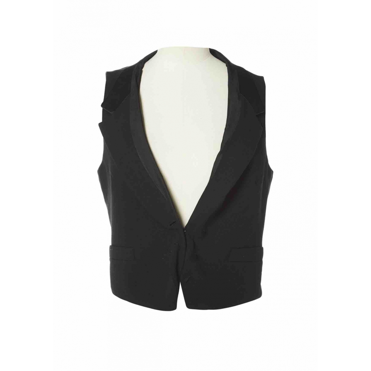 Maison Martin Margiela \N Black Wool jacket for Women 40 IT