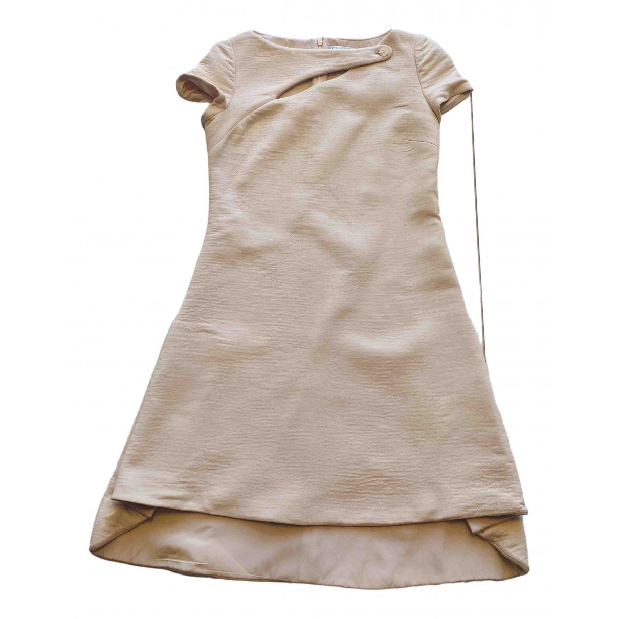 Dior - Robe   pour femme en laine - rose