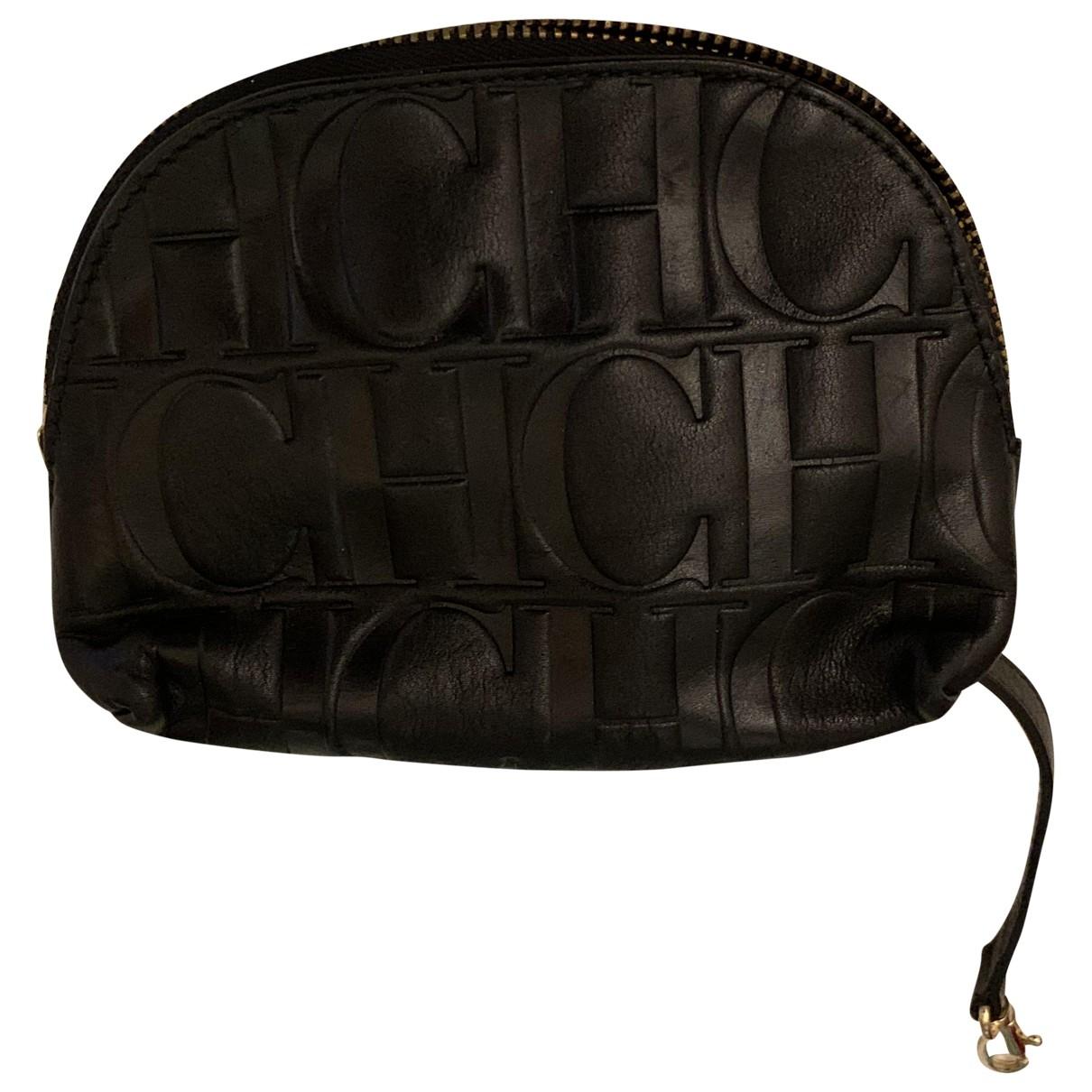 Carolina Herrera \N Black Leather Purses, wallet & cases for Women \N