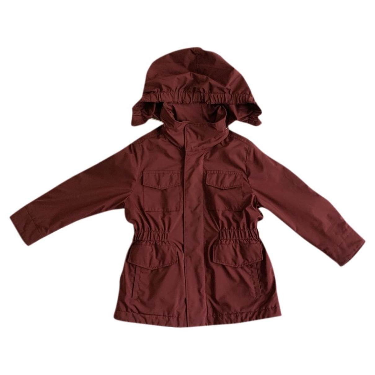 Loro Piana \N Burgundy Cashmere jacket & coat for Kids 2 years - until 34 inches UK
