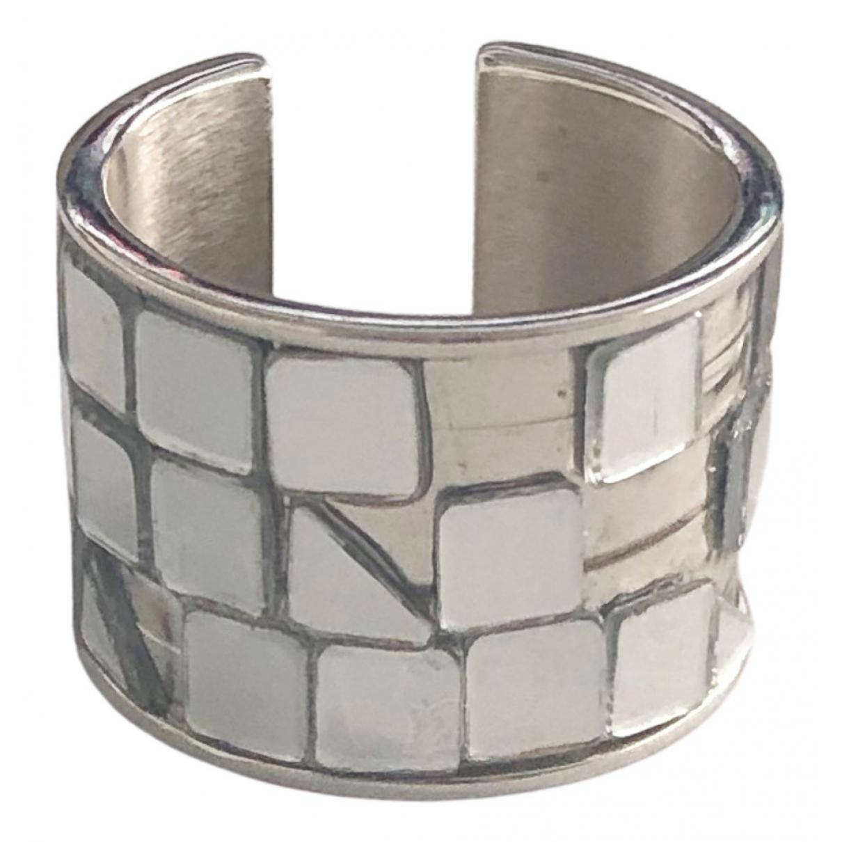 Mm6 \N Ring in  Silber Stahl