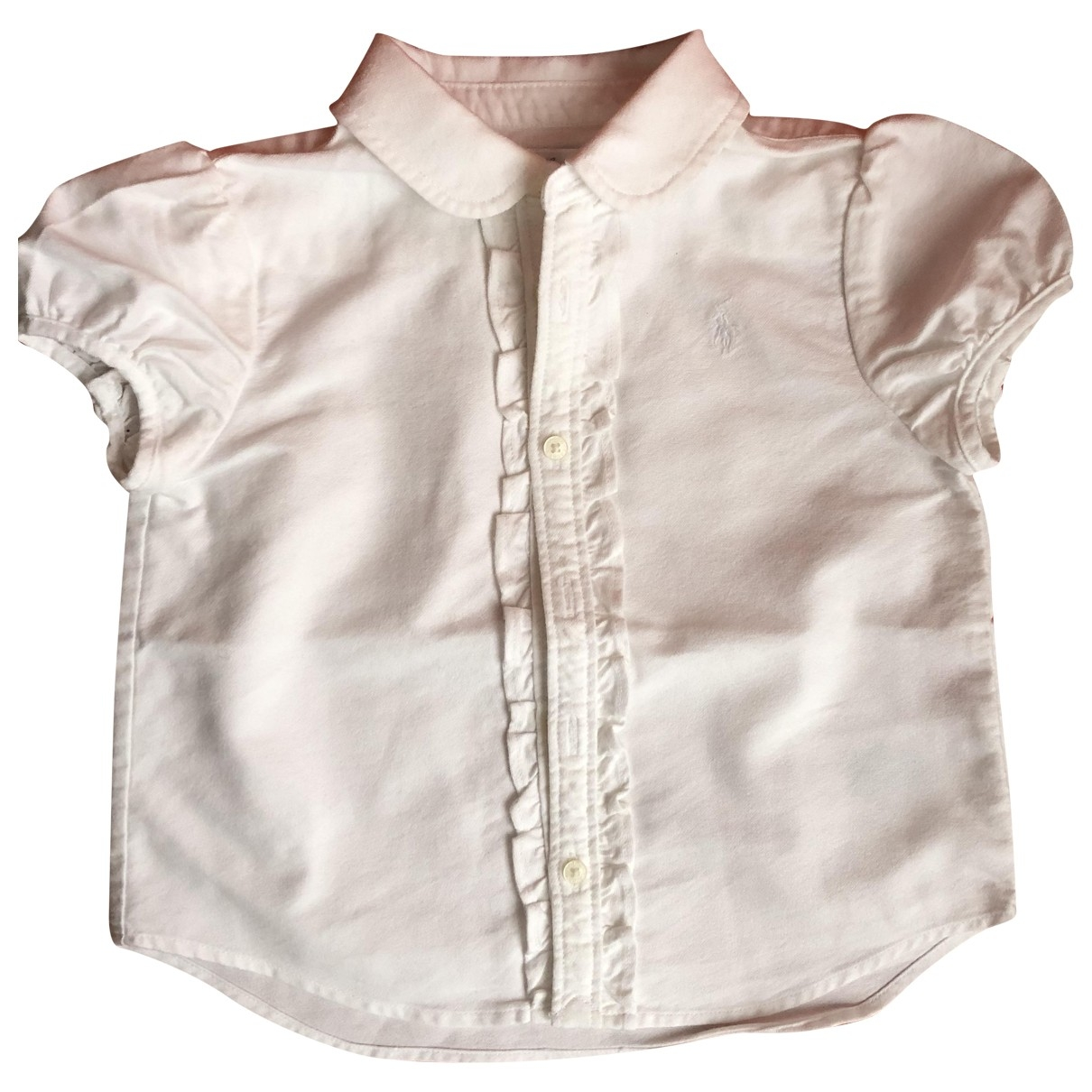 Ralph Lauren \N White Cotton  top for Kids 18 months - up to 81cm FR