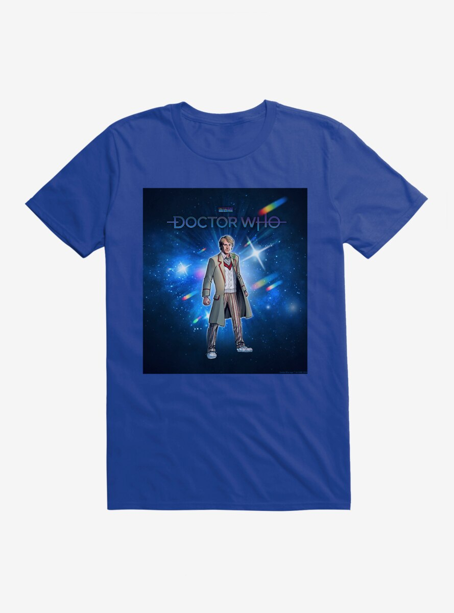 Doctor Who The Fifth Doctor Time Warp T-Shirt