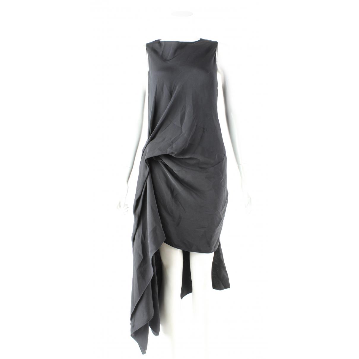Roland Mouret \N Kleid in  Schwarz Polyester