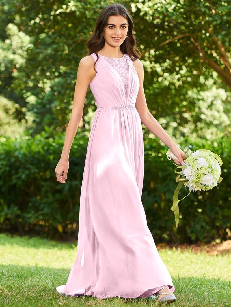 Ericdress Lace Beaded Bridesmaid Dress