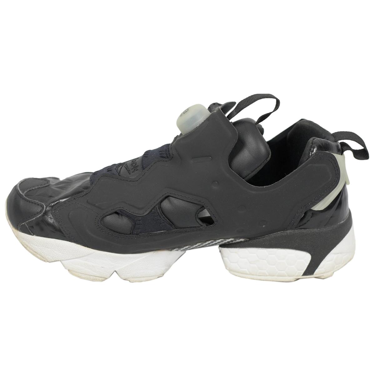 Reebok \N Sneakers in  Schwarz Kunststoff