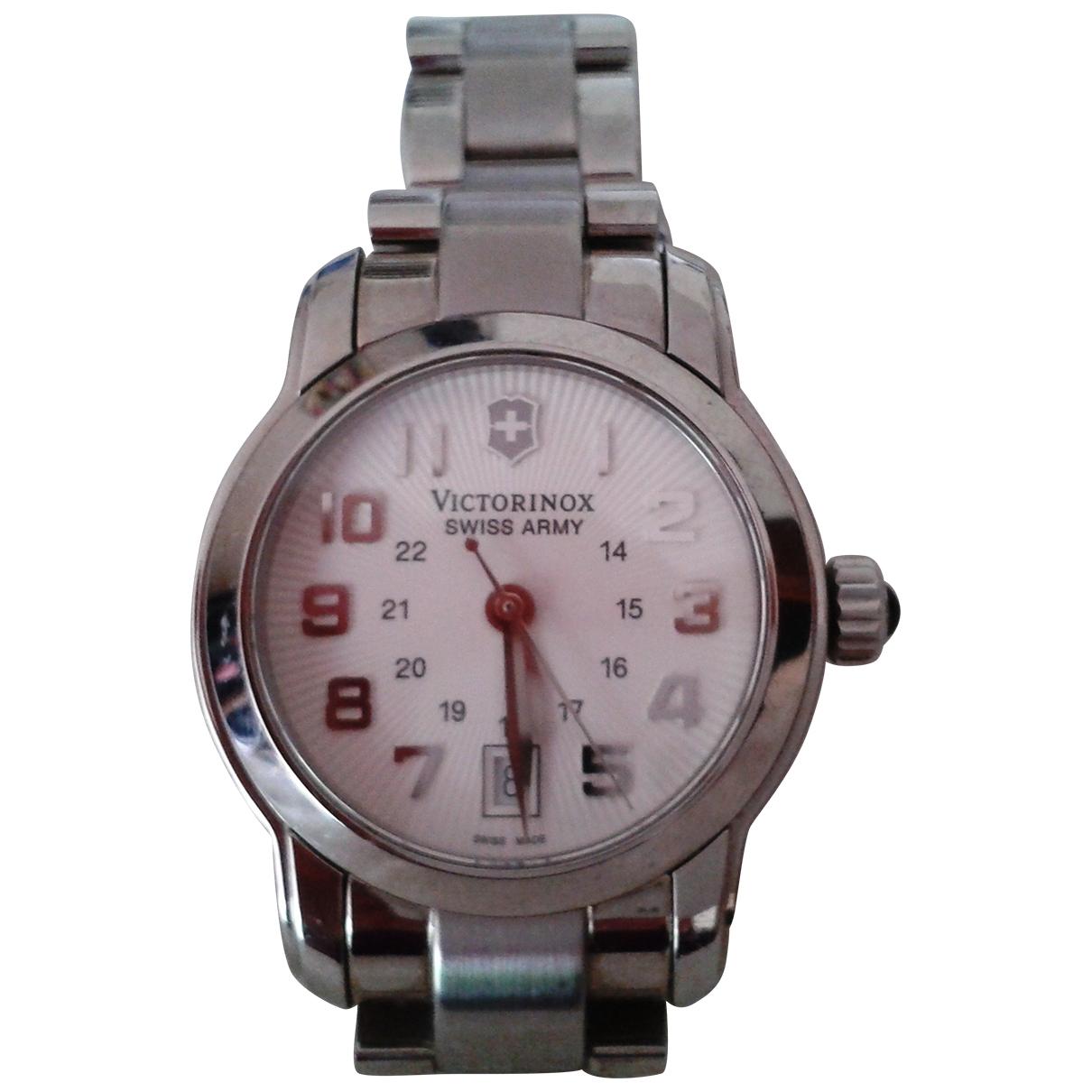 Victorinox \N Uhr in  Silber Stahl